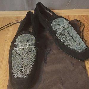 Cesare Paciotti Shoes - Cesare Paciotti Suede & Beaded Design UK 11 US 12